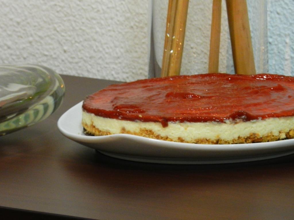 Pepper cheesecake