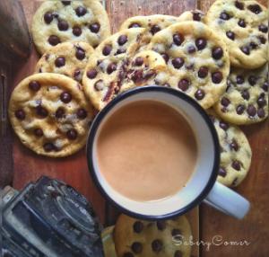 Café y Choco Chips