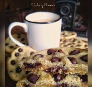Choco Chips, Café y Taza