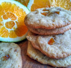 Galletas Naranjas Confitadas
