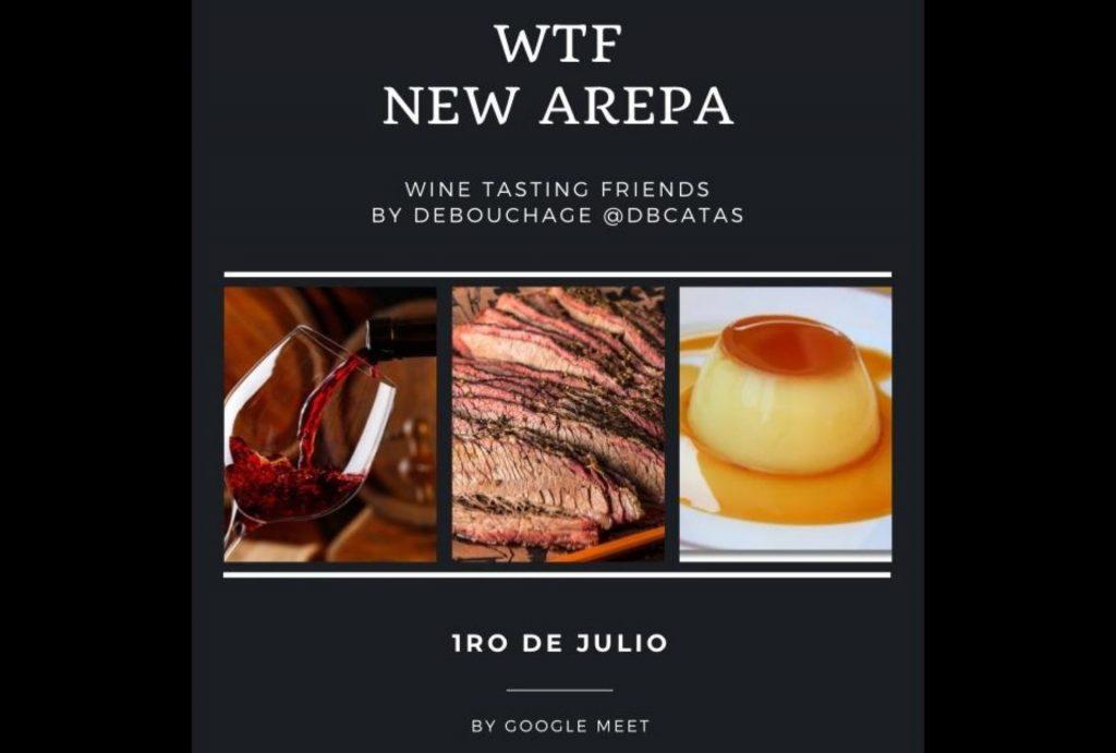 Wine Tasting Friends Arepa y Vino
